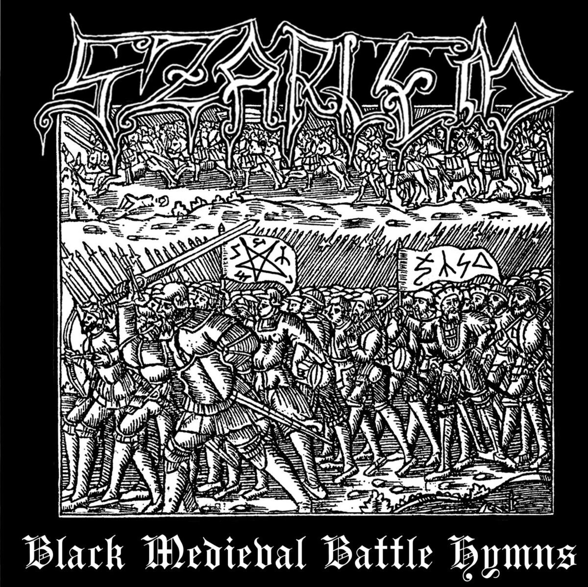SZARLEM - Black Medieval Battle Hymns LP