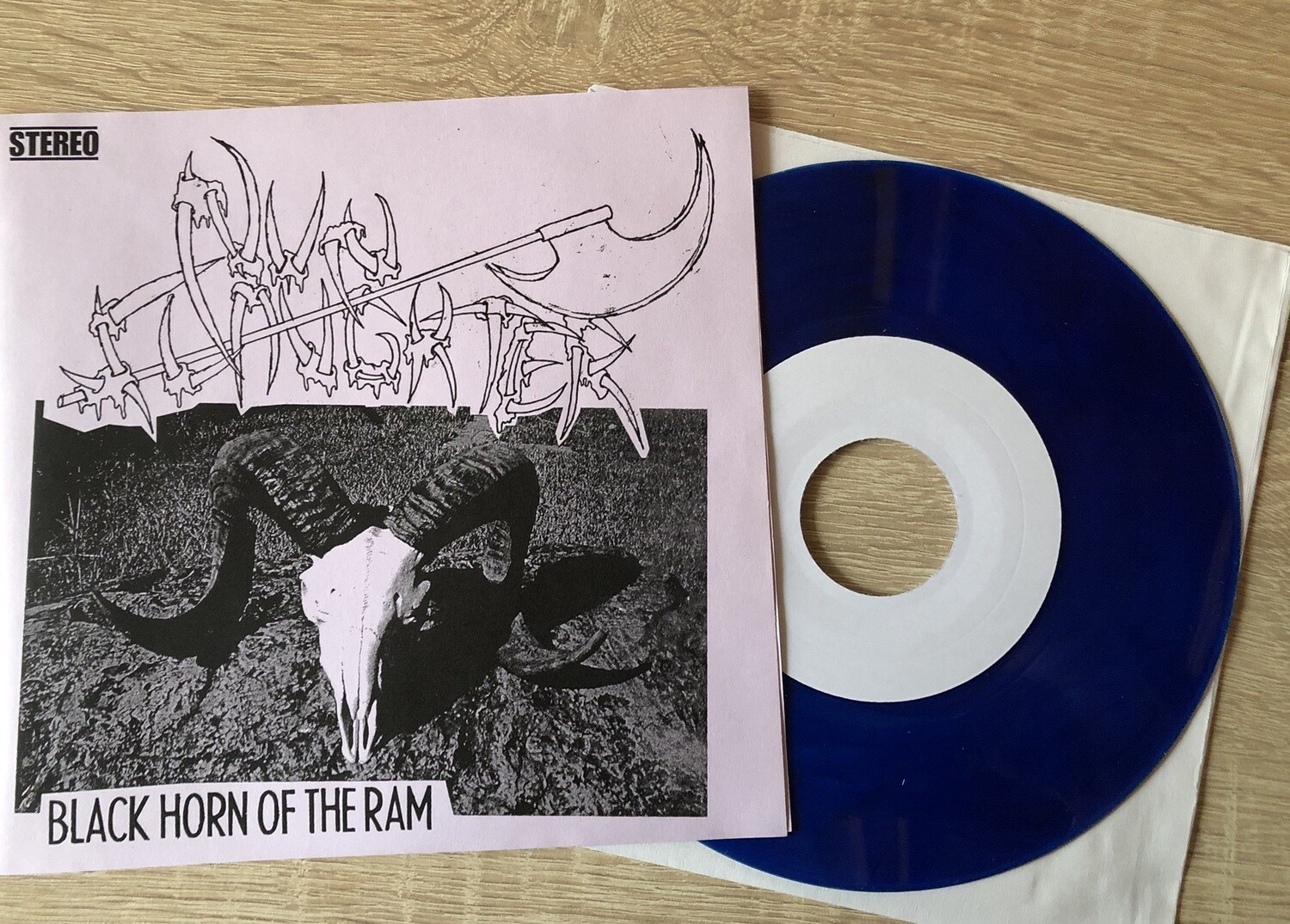 """NUNSLAUGHTER - Black Horn of the Ram 7""""EP"""