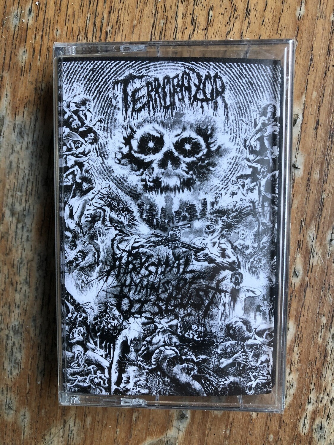 TERRORAZOR - Abysmal hymns of disgust MC
