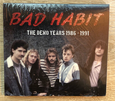 BAD HABIT - The Demo years 1986-1991 CD