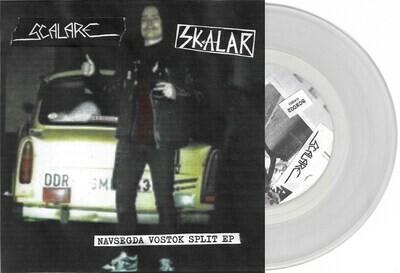 """SCALARE / SKALAR - Navsegda Vostok Split 7""""EP (Clear Vinyl) PRE-ORDER"""