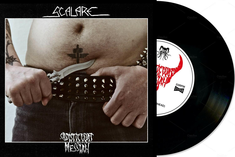"SCALARE / SADISTIC GOATMESSIAH Split 7""EP (Black Vinyl) PRE-ORDER"