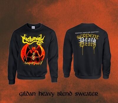 NOCTURNAL - Serpent Death SWEATER