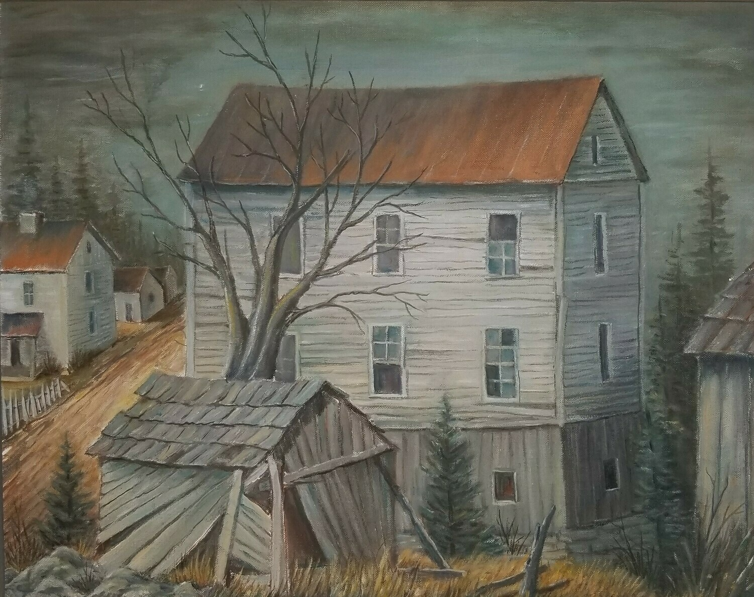 Fiddlers Mill  (original painting) 16X20