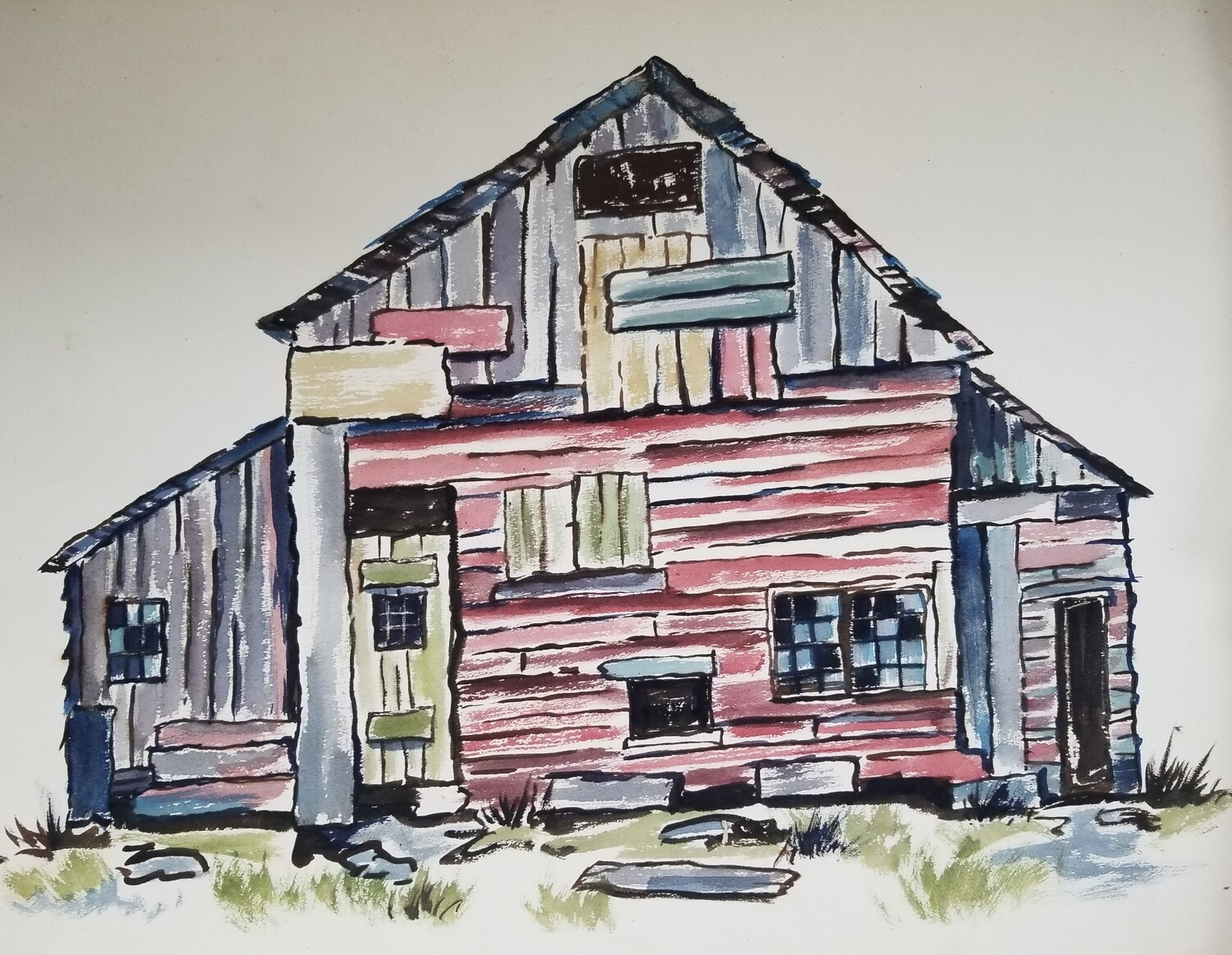 Patched Up Barn