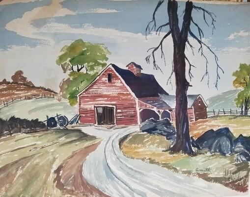 Grant County Barn