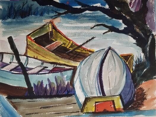 Boats, North Fork, WV