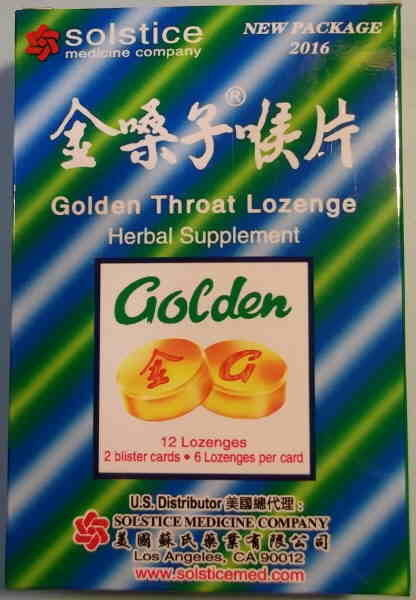 Golden Herbal Lozenge
