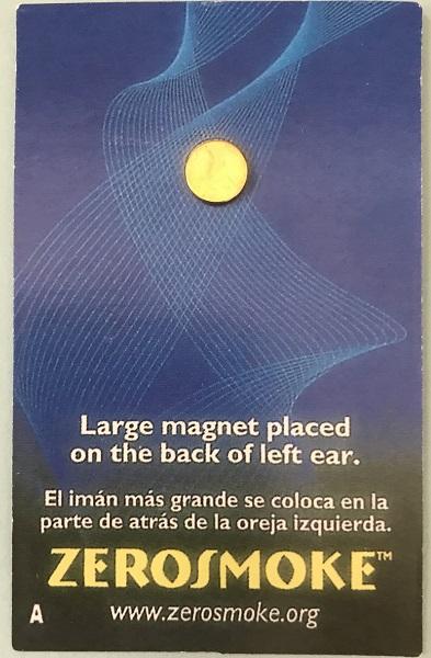 Anti-Smoke Zerosmoke Auricular Magnets