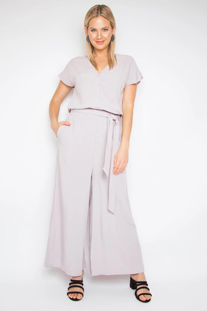Bounce Jumpsuit In Rosewater