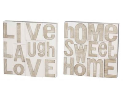 Home/Love Plaque