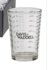 Glass measuring 120ml