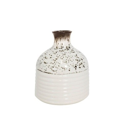 Full Bloom Ceramic Vase
