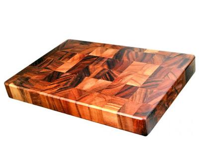 Acacia Wood End Grain Board