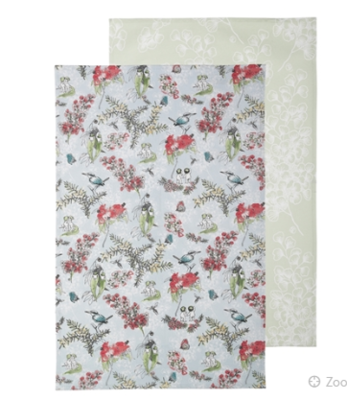 Blossom Set Of 2 Tea Towels