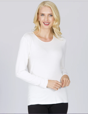 Winter Body Top White