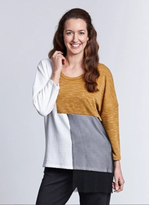 Spliced Block Top