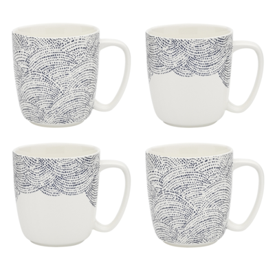 Adriatic Set Of 4 Mugs