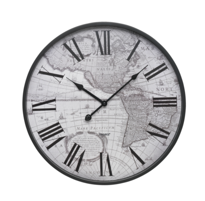Degree Atlas Wall Clock