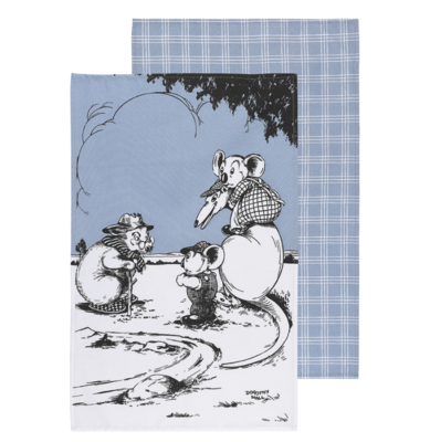 Blinky Bill Tea Towel
