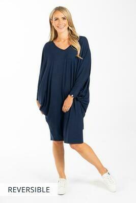 Gathered Long Sleeve Maxi Miracle Dress