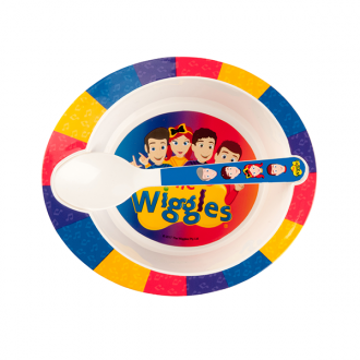 The Wiggles Bowl and Spoon Set
