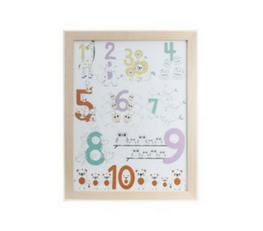 Little Ones Number Wall Art