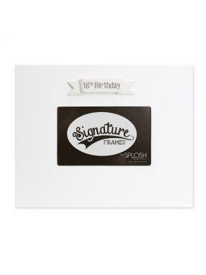 18th Signature Frame