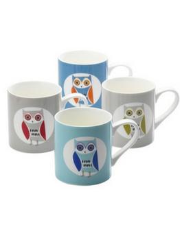 Hoot Mugs Set