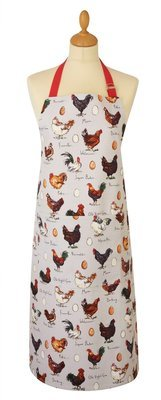 Chicken and egg apron