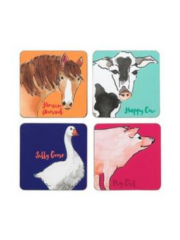 Symphony Funny Farm Coasters Set of 4sym