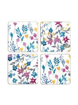 Symphony Wild Flower Coasters Set of 4