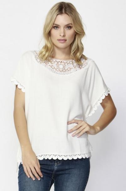 Byron lace blouse