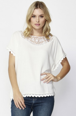 Byron lace blouse