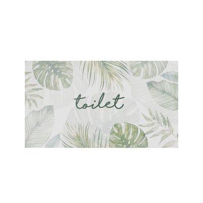 Botanical Door Plaque
