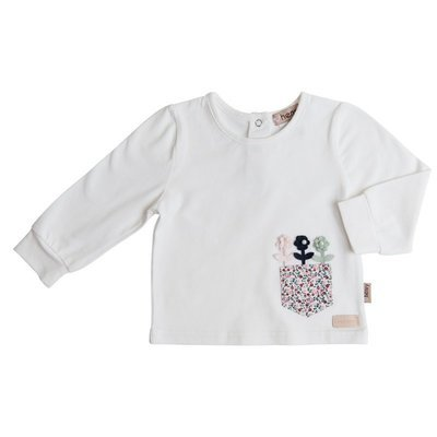 Baby girl pocket top