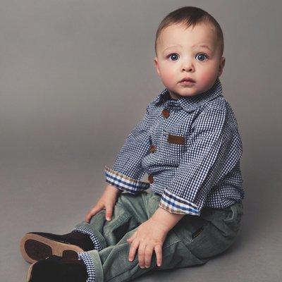 Baby Boys Popper Shirt