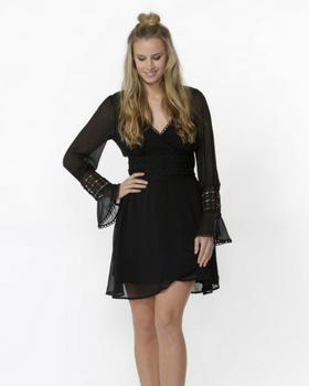 Seraya Lace Detail Dress