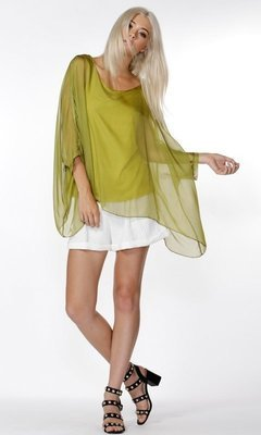 Adeline Silk Blouse