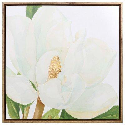 Magnolia framed canvas 64x64