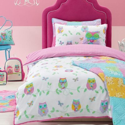 Owl Song Single Bed Quilt Cover Set