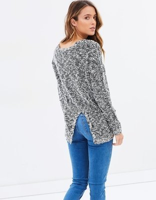Agatha Split Back Knit