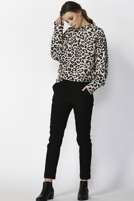 Darby leopard print jumper