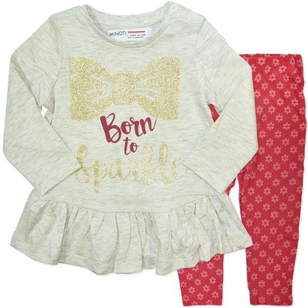 Baby Girls Top & Leggings Set