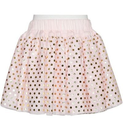 Baby Girls Pink/Gold Spot Skirt