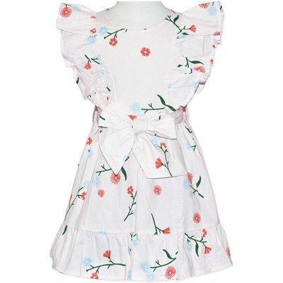 Cinnamon Girls Pink Print Dress