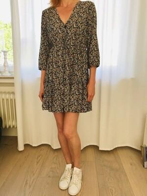 Robe courte imprimé fleuri Cherry Paris