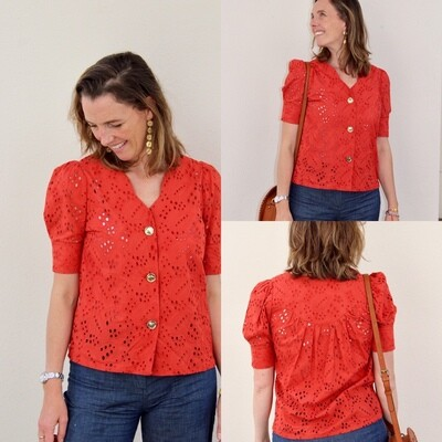Top broderie anglaise MC Opullence