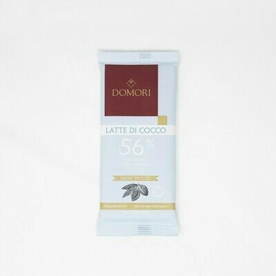 Tavoletta Domori Latte di Cocco 56%, 75 gr