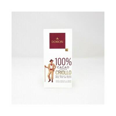 Tavoletta Domori Linea Blend - Criollo100%